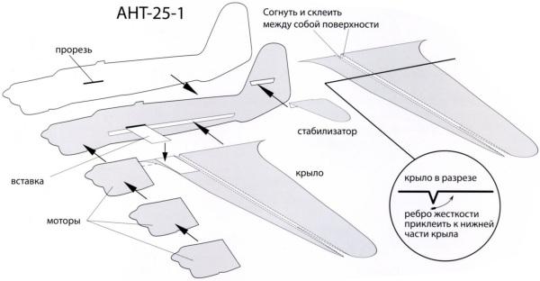 Модели Самолетов Бумаги