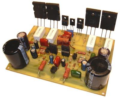 Схема усилителя для сабвуфера состоит из активного фильтра на TL082 и.