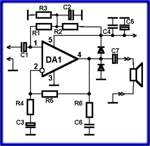 Простой усилитель мощности на микросхеме tda2030 lt b gt принципиальная lt b gt lt b gt lt b gt