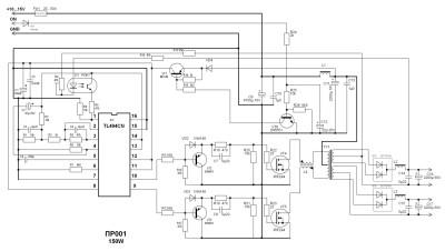 простая схема коммутатора ваз 2108