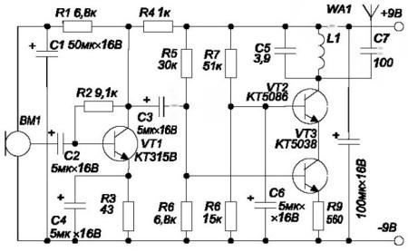 Рисунок 5 - Схема