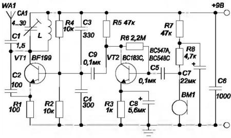 Рисунок 6 - Схема упрощенного