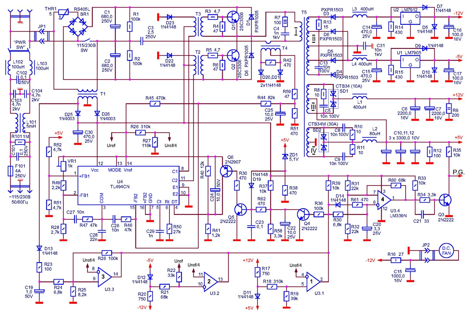 принципиальная схема sony kv